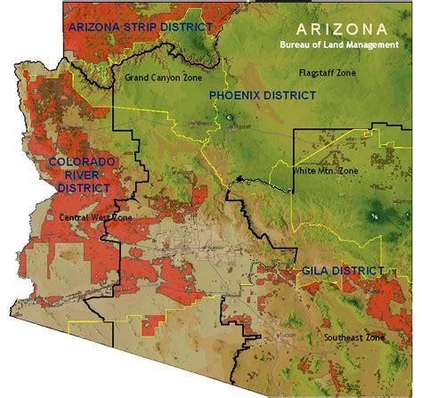 arizona blm land map blm land map arizona bnhspine