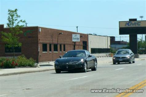 Maserati Milwaukee by Maserati Granturismo Spotted In Milwaukee Wisconsin On 08