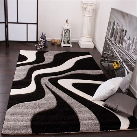 tapis design gris et images