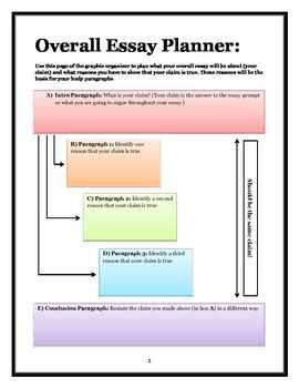 Literary Essay Clipart by Literary Analysis Essay Graphic Organizer By Mrsmooney Tpt