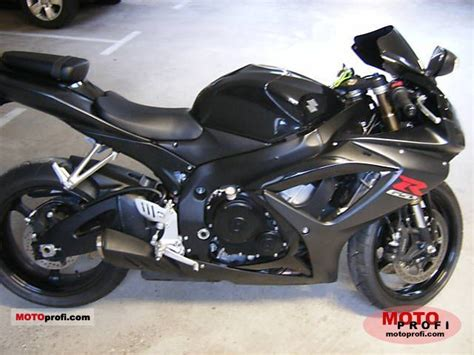 Suzuki Gsx 600 2007 Suzuki Gsx R 600 2007 Specs And Photos