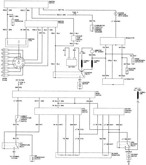 1977 bronco wiring diagram 1977 free engine image for