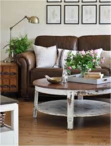 how to decorate with furniture decorating around a leather sofa centsational