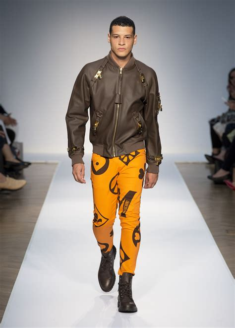 moschino spring summer  mens collection  skinny beep