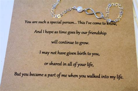 Step Birthday Quotes Love For My Stepdaughter Home Bracelets Infinity