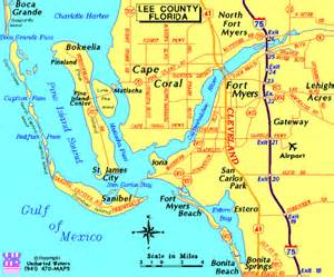 map of cape coral florida cape coral maps