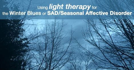winter blues light therapy winter blues or sad light therapy