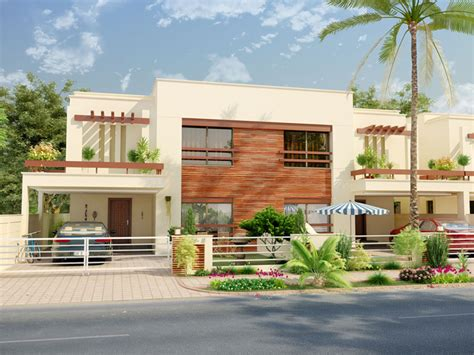 home front view design pictures in pakistan 3d front elevation 10 marla house plan with basement