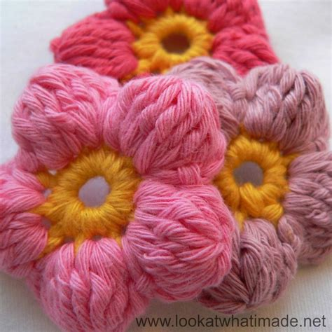 Floweri Puff 17 best images about crochet flowers on brooches free pattern and crochet flowers