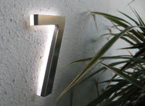 Appartment Number by Led House Numbers Apartment Led Numbers Modern By