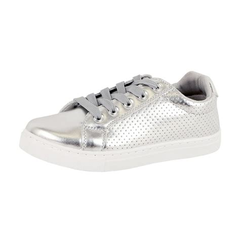 Platform Noah silver dot platform fashion walking sneaker noah from