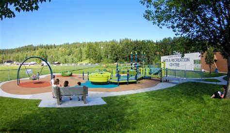 Landscape Structures Netplex Quesnel Accessible Playground Habitat Systems