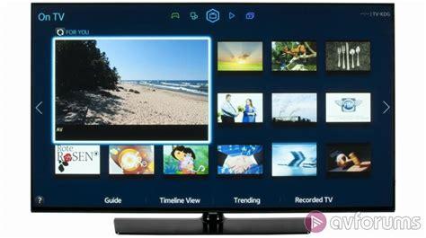 Tv Samsung H5500 samsung ue48h5500 h5500 tv review avforums