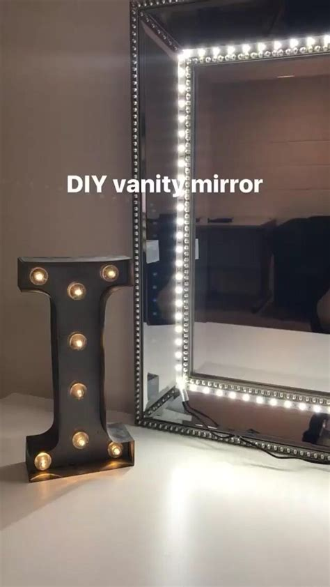 vanity makeup mirror with led lights makeup mirror with lights diy makeup vidalondon