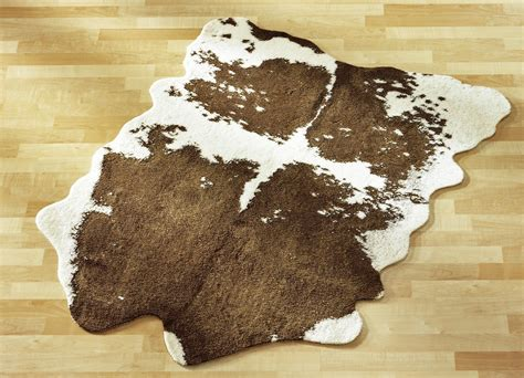 teppiche kuhfell teppich im kuhfell design teppiche bader