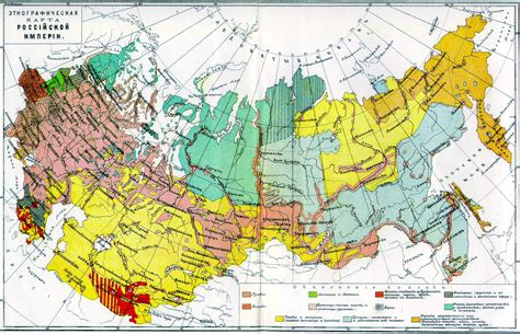 russia ethnic map ethnic composition maps of the early 1860s civfanatics