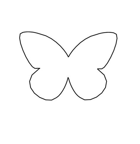 molde gratis de mariposa para imprimir recortar mariposas imagui