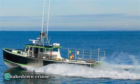 mussel ridge boats cfn shakedown cruise mussel ridge 44 5 187 commercial