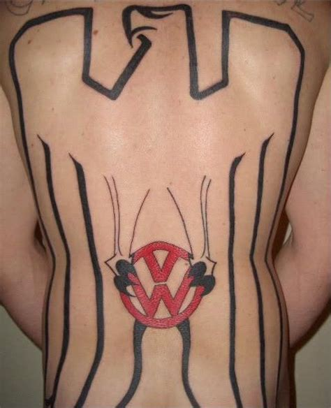vw beetle tattoo designs 75 best images about das vw tattoos on logos