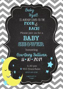 awesome moon  star baby shower decorations ideas