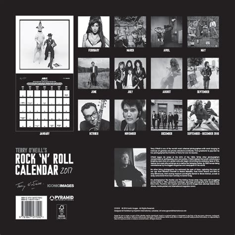 terry oneills rock n 1851497722 terry o neill s rock n roll calendars 2018 on abposters com
