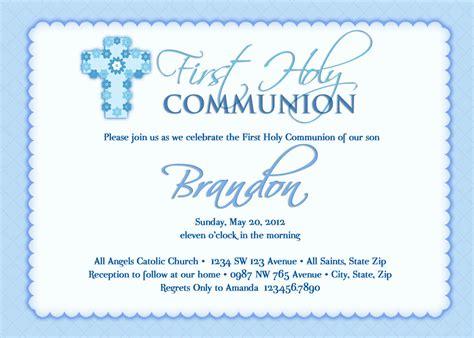 Communion Invitations by Boy S Communion Invitations Communion Invitations