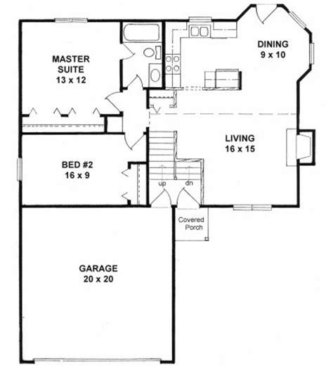 plan 0900 bi level starter home