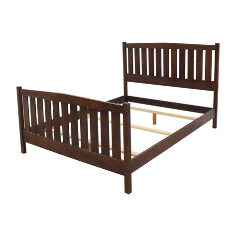 used queen bed frame 66 off stickley stickley mission queen bed frame beds