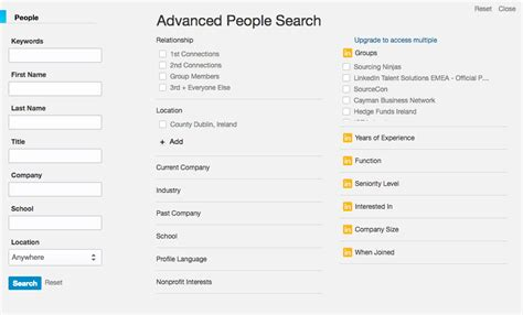 Search On Linkedin The Recruiter S Guide To Using Linkedin S Advanced Search Tool