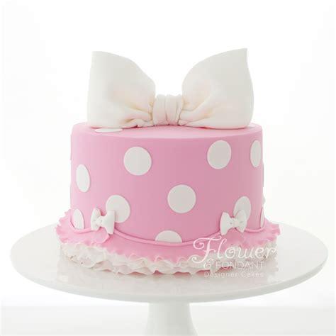 polka dot cakes polkadot cake flower fondant