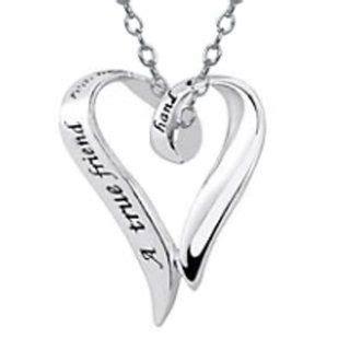 friendship bracelet heart inside a heart true love here lois hill sterling silver 33 necklace on popscreen