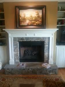 fireplace with raised hearth fireplaces