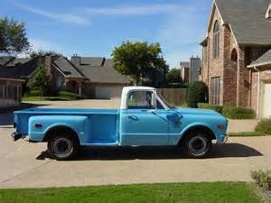 all original 68 chevy bed stepside by