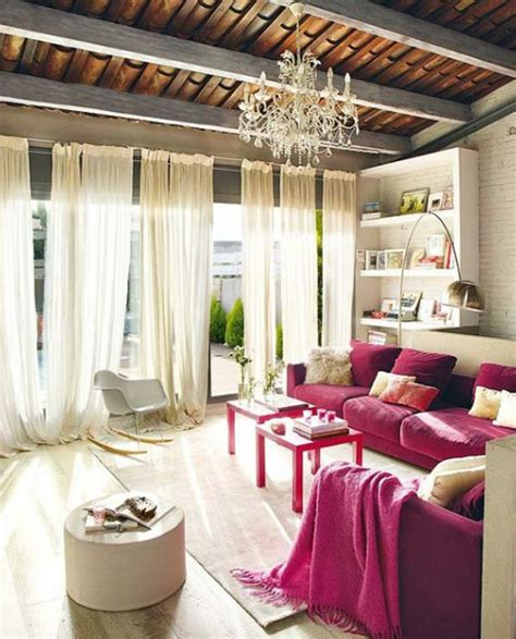pink living room decorating ideas inspired pink living room design with places