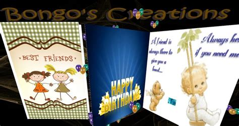 Animated Birthday Card Series Bc 06 second marketplace bc birthday card best friends the card inside is animated with the