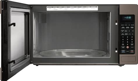 lg cabinet microwave lcrt2010bd lg 2 0 cu ft countertop or built in microwave black stainless steel