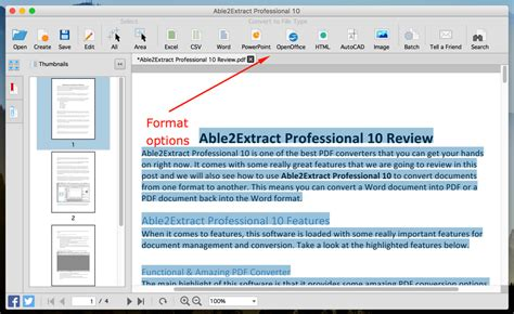 Software Converter Able2extract Professional 10 able2extract professional 10 giveaway review