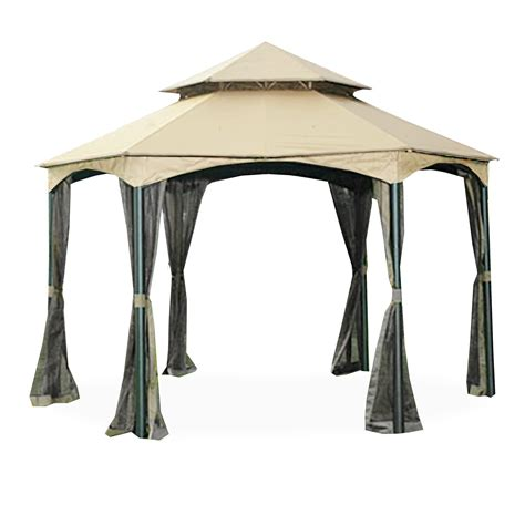 hexagon gazebo southbay hexagon gazebo replacement canopy riplock 350