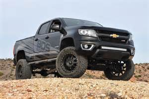 bds lifted 2015 chevy colorado rear three quarter pictures