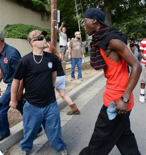 pissed pictures kkk new black panthers clash in sc confederate flag