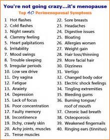 Menopause symptoms png