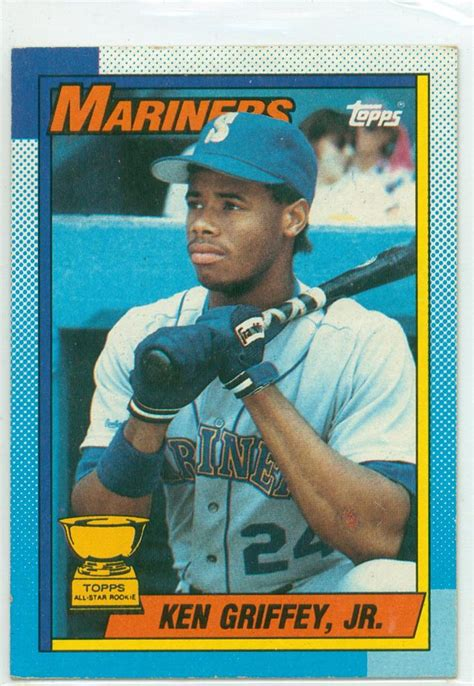 what makes a baseball card valuable baseball card show purchase 4 1990 topps ken griffey