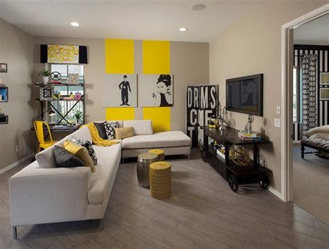 yellow and black living room decorating ideas 15 fascinating grey and yellow living room designs
