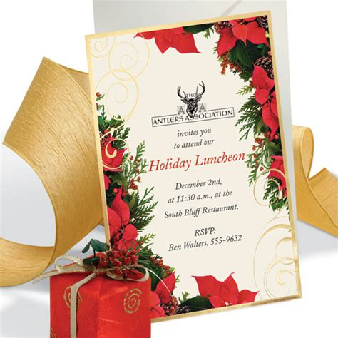 who to prepare invetation on christmas how to write company invites that impress the board paperdirect