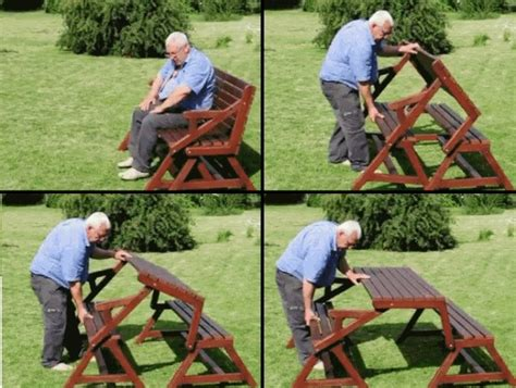 2 in 1 picnic table bench how to build a diy 2 in 1 convertible folding bench and