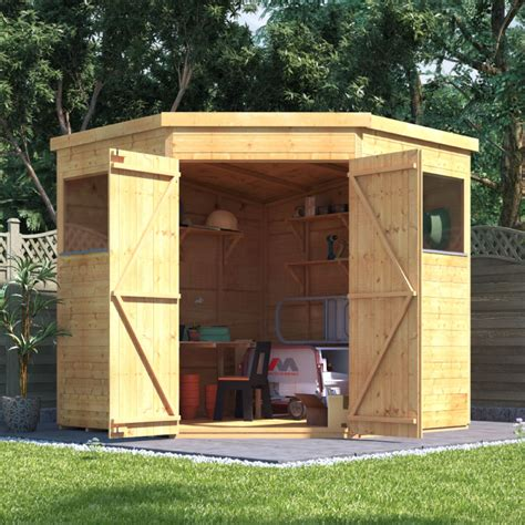 billyoh expert tongue  groove corner workshop shed