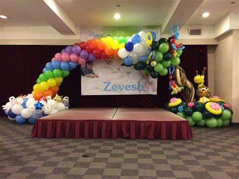 Balloon decorations for birthday party that balloons