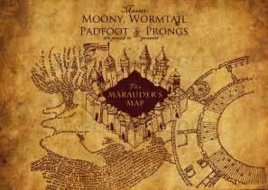 Marauders Map Bedroom Wallpaper Mapa Maroto Harry Potter Poster Harry