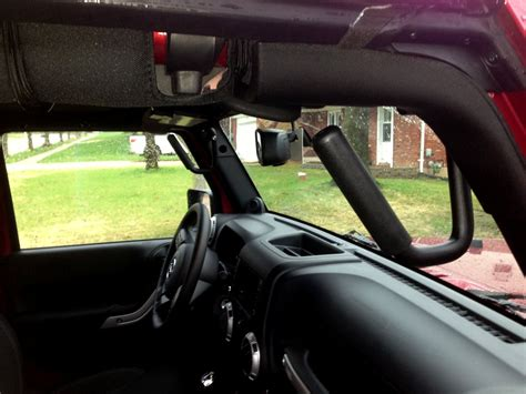 Jeep Grab Bars Grab Handles In The Jeep I Had Velcro Grab Handles To