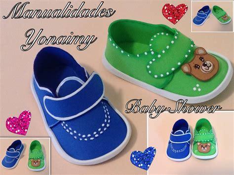 zpatitos para baby shower en goma eva las manualidades zapatitos de ni 209 o en foamy o goma eva para baby shower